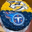 Nashville's Favorites Smash Cake