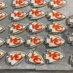KC Chiefs Themed Cookies