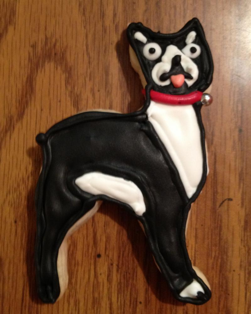 Boston Terrier Cookies