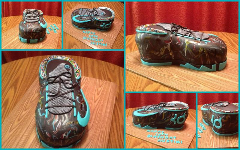Nike KD Illusion Shoe Inspired Cake