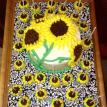 Sunflower Cake with Cake Pops